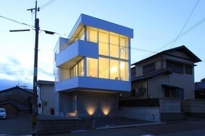 東長町の家 (外観)