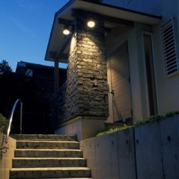 鎌倉の清荘 (玄関)