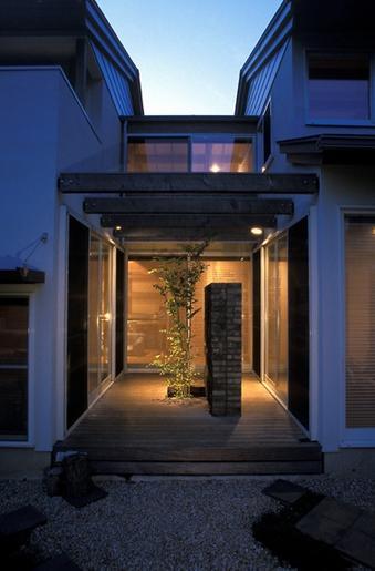 鎌倉の清荘の部屋 中庭