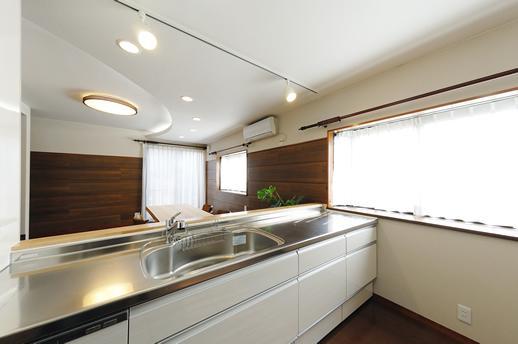リフォーム事例1の写真 キッチン
