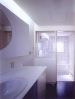 階段の家 (バスルーム)