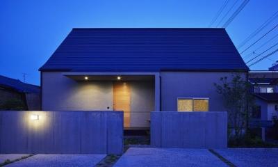 Umi house (北側外観)
