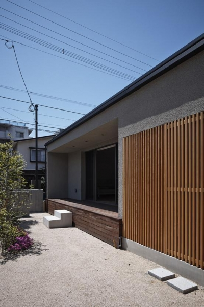 Umi house (南側外観)