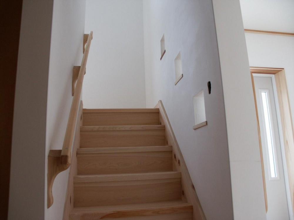 富田林の家 (階段)