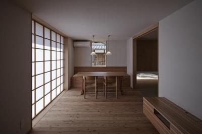 Shigaraki house (リビング1)