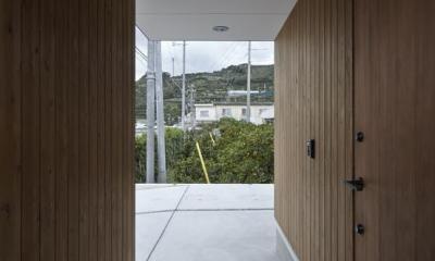Maruta house (エントランス)
