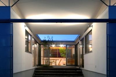 コートハウス3の中庭 (コートハウス3)