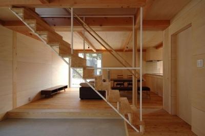 ウイングハウス (ウイングハウスの階段室)