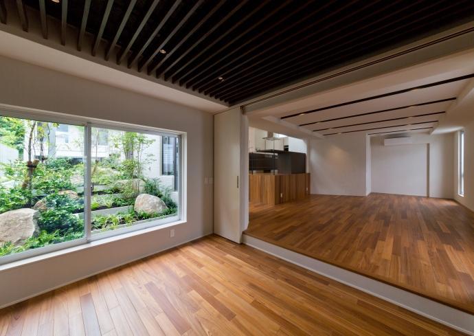 NAG-house  スキップフロアーの家の部屋 バレエ・音楽室