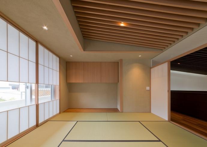 NAG-house  スキップフロアーの家の写真 和室