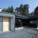 鳥栖の住宅01の写真 外観-玄関(撮影:Y.Harigane)