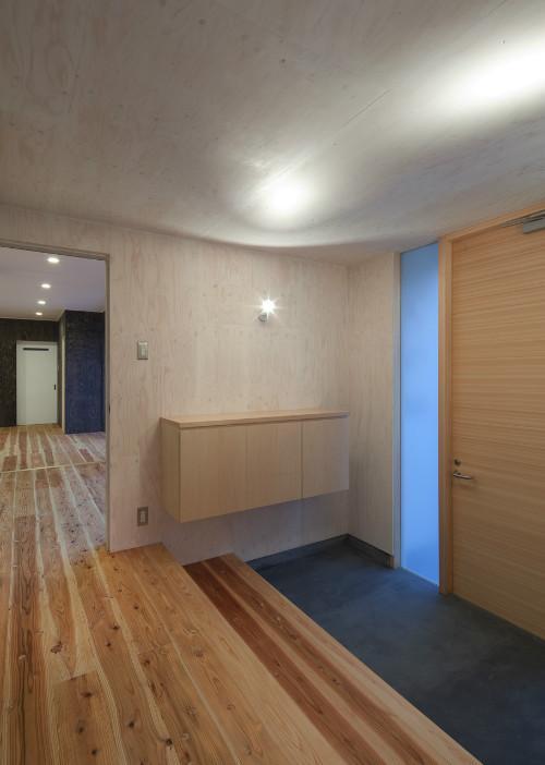 鳥栖の住宅01の部屋 広々玄関(撮影:Y.Harigane)