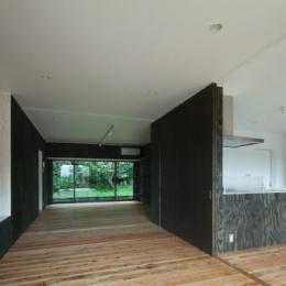 鳥栖の住宅01 (ファミリースペース1(撮影:Y.Harigane))