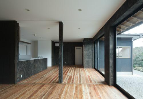 鳥栖の住宅01の部屋 子世帯キッチン・ダイニング(撮影:Y.Harigane)