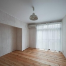 鳥栖の住宅01の写真 ベッドルーム(撮影:Y.harigane)