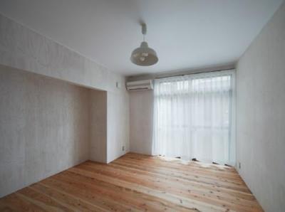 鳥栖の住宅01 (ベッドルーム(撮影:Y.harigane))