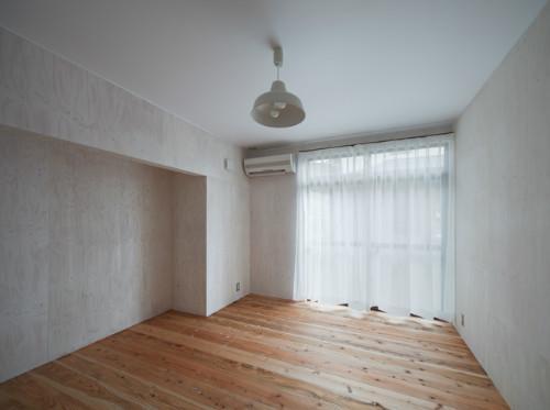 鳥栖の住宅01の部屋 ベッドルーム(撮影:Y.harigane)