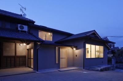 外観 (Hazukashi house)
