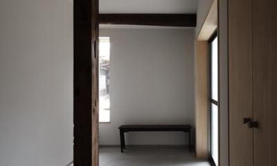 Hazukashi house (玄関)