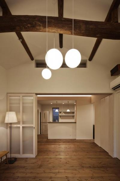 Hazukashi house (リビング2)