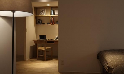 Kitashirakawa Apartment (寝室1)