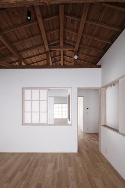 寝室1 (Ginkakuji house)