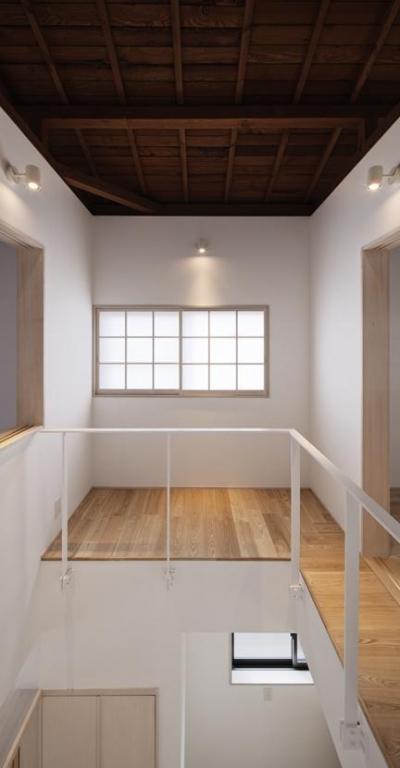 吹抜け1 (Ginkakuji house)