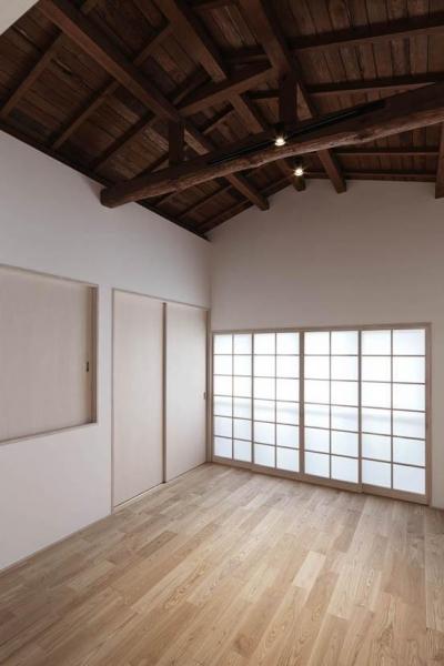 寝室2 (Ginkakuji house)