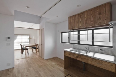 Ginkakuji house (キッチン2)