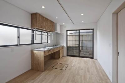 Ginkakuji house (キッチン3)