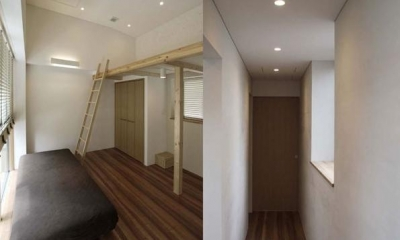 九条の家 (寝室・廊下)
