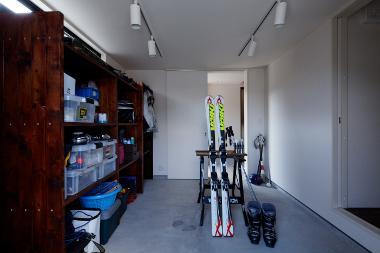 長門の家  House In Nagatoの部屋 大容量物置スペース