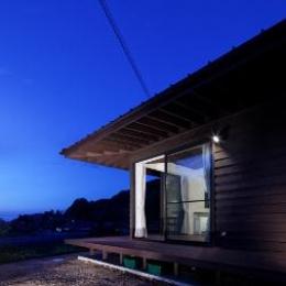 外観(リビングダイニング方面) (長門の家  House In Nagato)