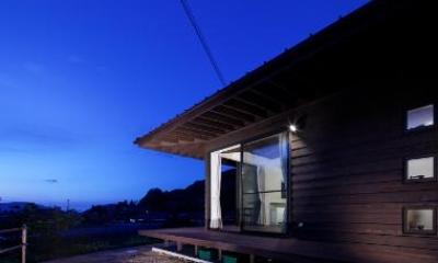 長門の家  House In Nagato (外観(リビングダイニング方面))