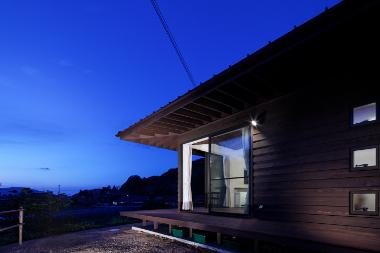 長門の家  House In Nagatoの部屋 外観(リビングダイニング方面)