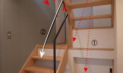 階段|そらまどのいえ