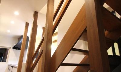 Nさんの家 (階段(撮影:hiroyuki ohtani))