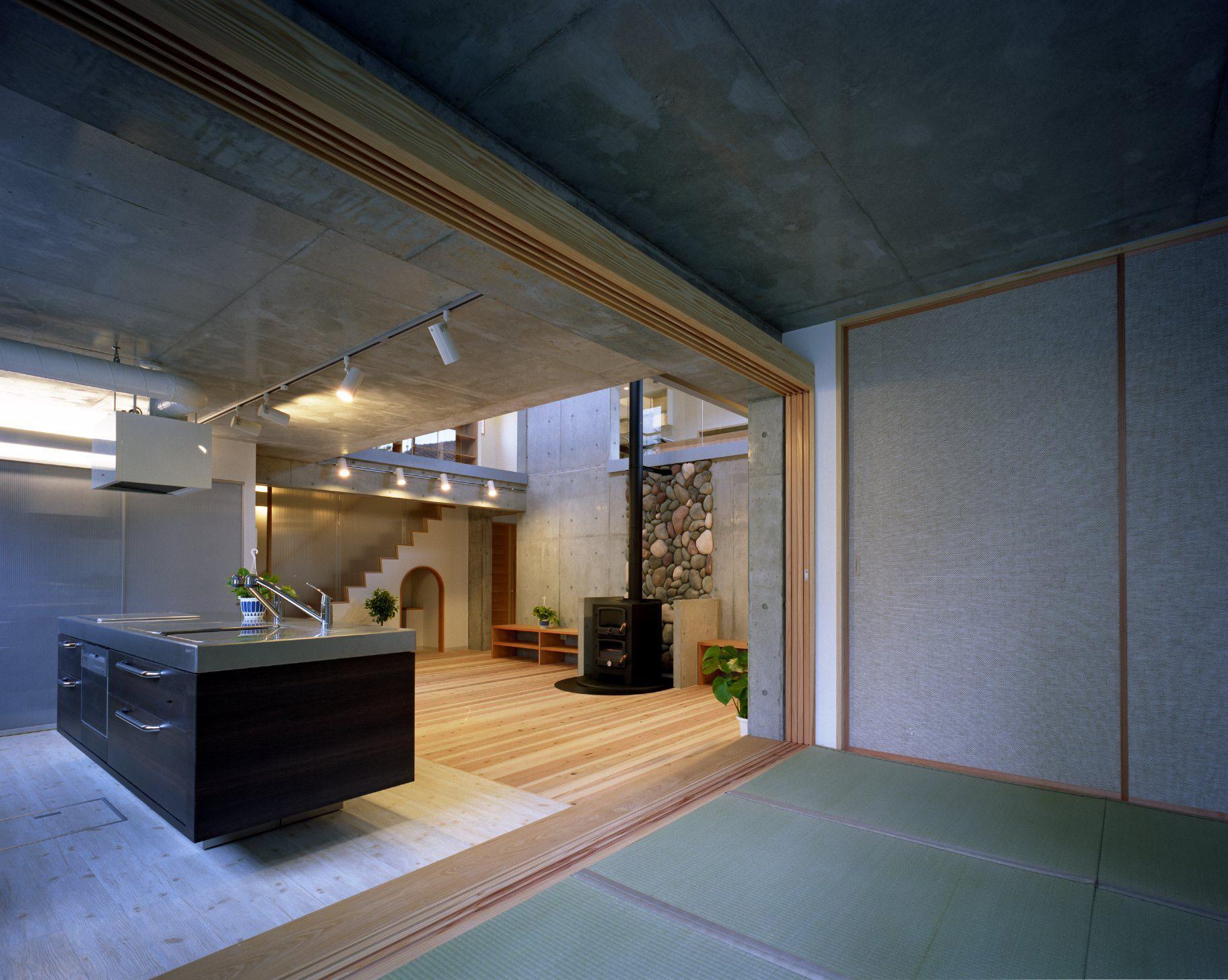 東京都世田谷区 M邸の写真 工夫が広がるキッチン周り