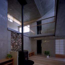東京都世田谷区 M邸 (暖炉スペース)