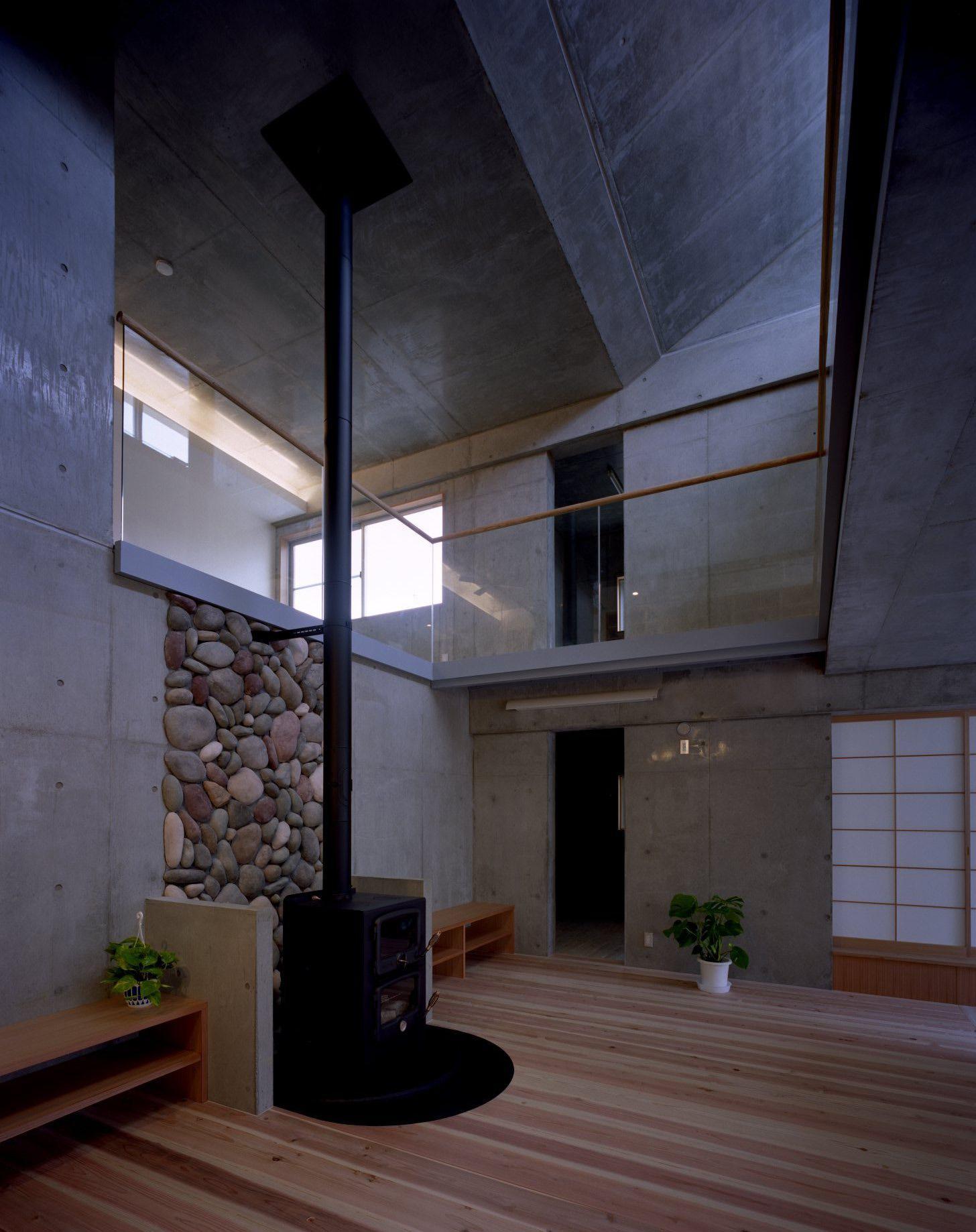 東京都世田谷区 M邸の部屋 暖炉スペース