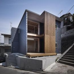 桜テラスの家 (外観(撮影:Tomohiro Sakashita))