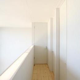 open / close (2階廊下)