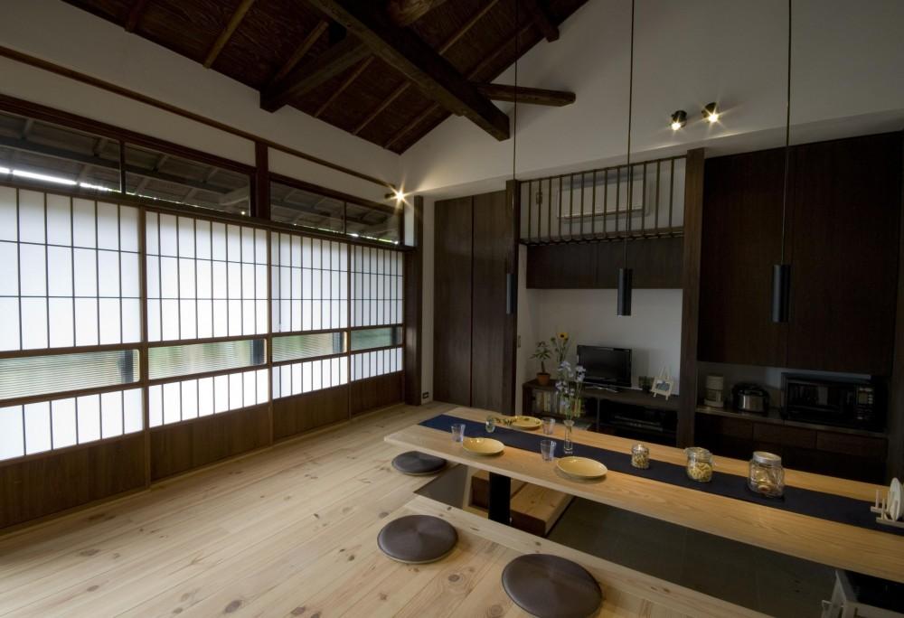森村厚建築設計事務所「ビフォーアフターで放送された和モダンリノベーション/重くて遠い家」