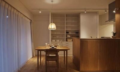 Kitashirakawa Apartment (リビング・ダイニング5)