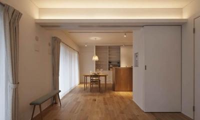 Kitashirakawa Apartment (リビング・ダイニング6)
