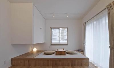 Kitashirakawa Apartment (畳小上り)