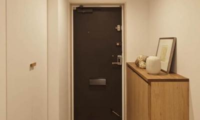 Kitashirakawa Apartment (玄関2)