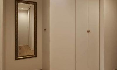 Kitashirakawa Apartment (玄関3)