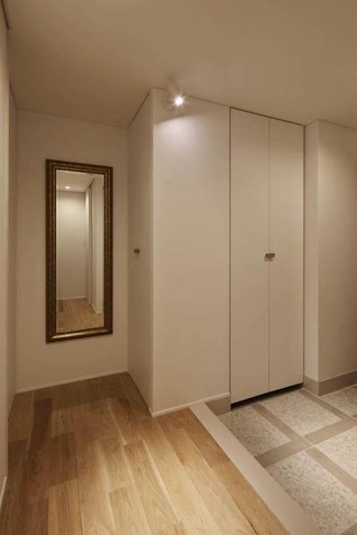 玄関3 (Kitashirakawa Apartment)