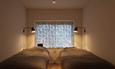 Kitashirakawa Apartment (寝室2)